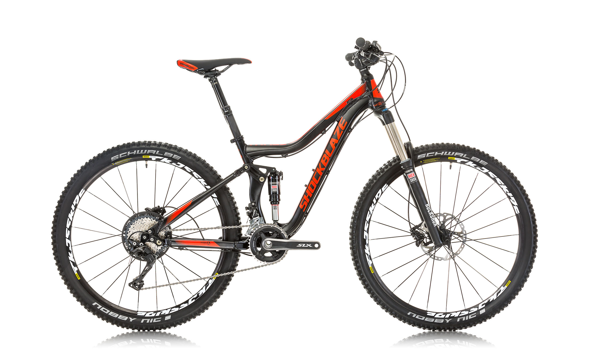 Shockblaze Mountainbike TRACE RACE 27,5 Zoll Alu
