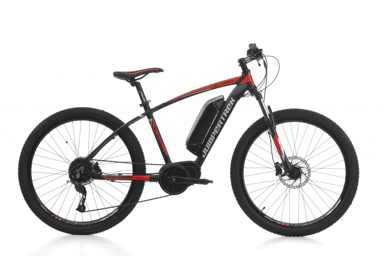 27,5 Zoll MTB Cinzia Sleek MTB E-bike Scheibenbremsen Alu