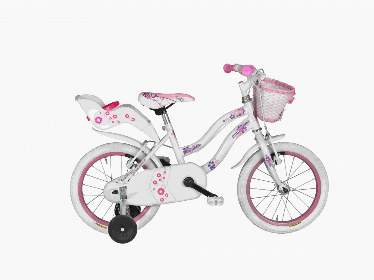 16 Zoll Mädchen Fahrrad Coppi Karina