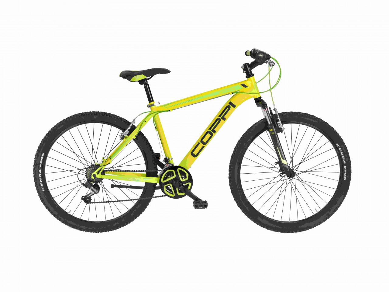 27,5 Zoll Mountainbike MTB Coppi Brave 21 Gänge Federgabel