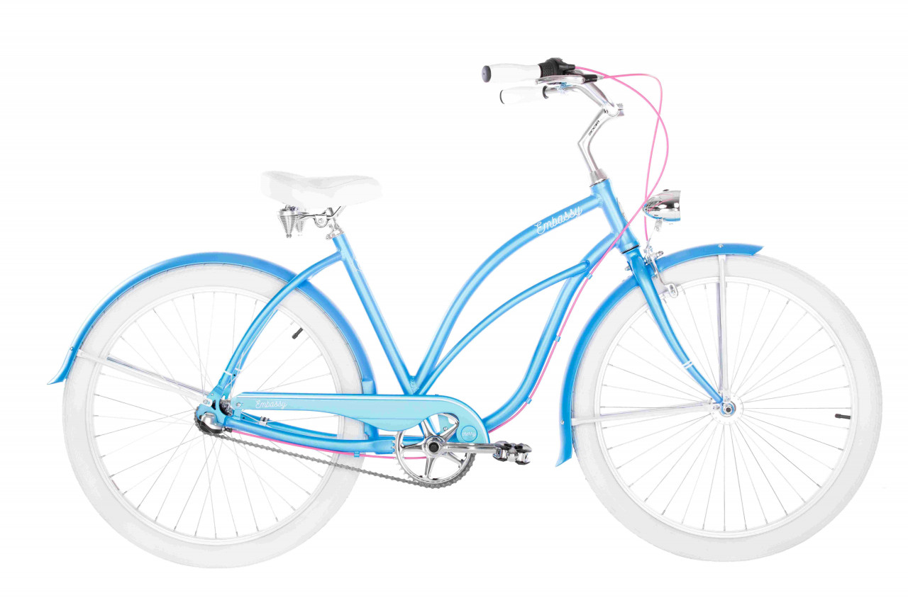 26 Zoll Cruiser Embassy Simple Cherry 7 Gänge