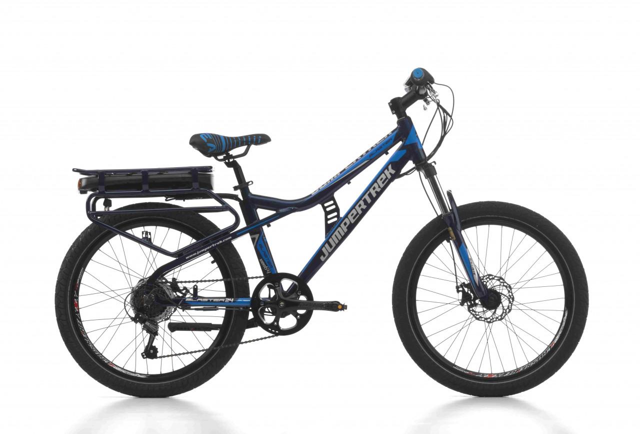 24 Zoll MTB E-bike Cinzia Blaster 7 Gänge Federgabel Aluminium