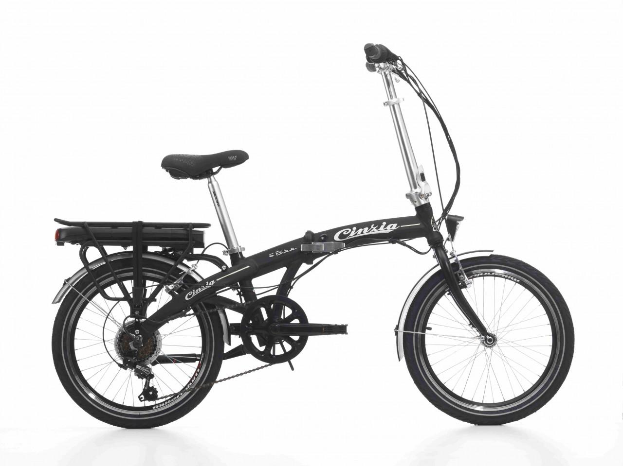 20 Zoll E-bike Klappfahrrad Cinzia Elfyn 6 Gänge Aluminium