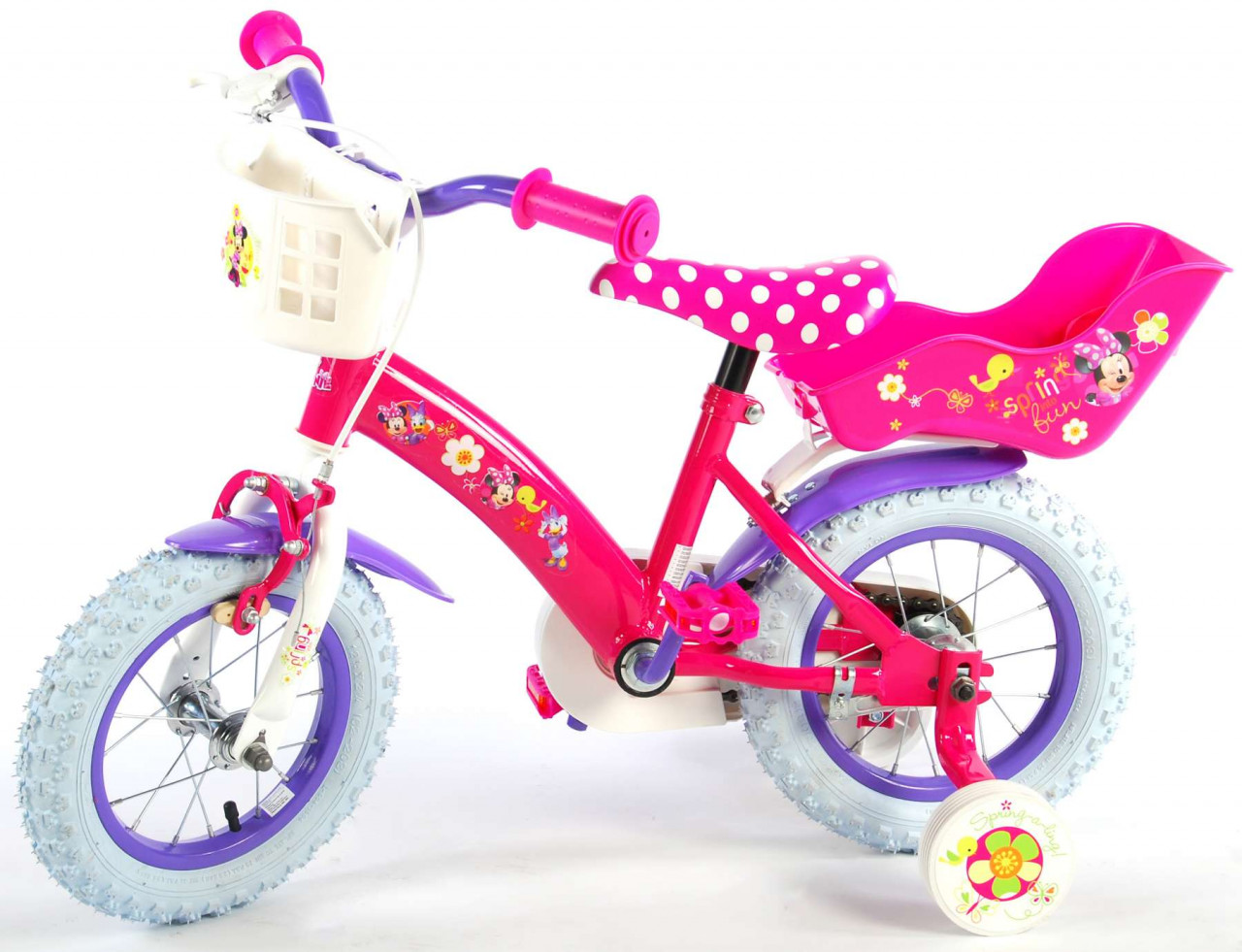 Disney Minnie Bow-Tique Kinderfahrrad 12 Zoll