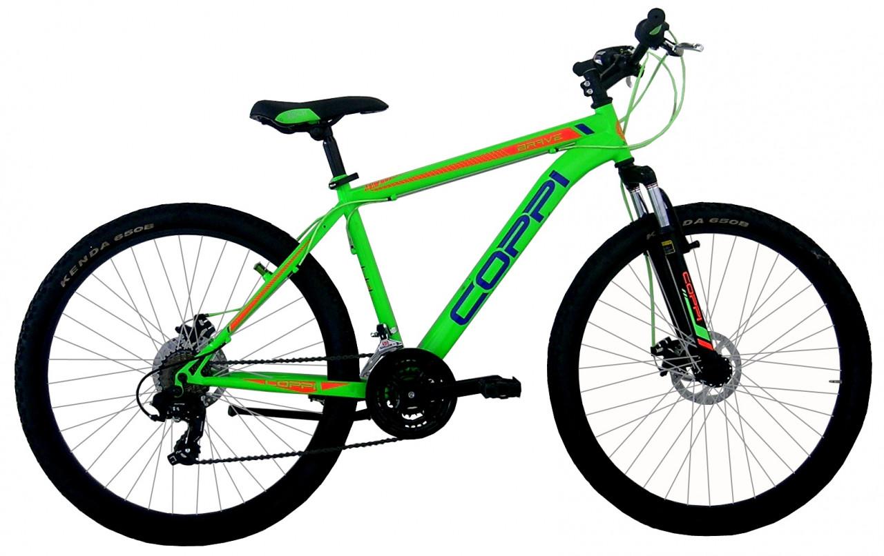 27,5 Zoll Mountainbike MTB Coppi Scheibenbremsen 21 Gänge