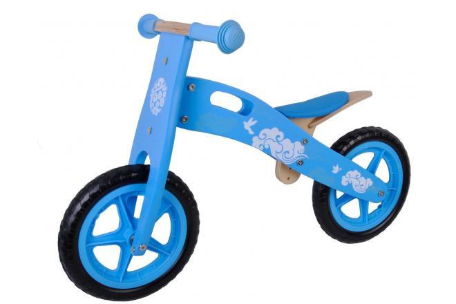 Yipeeh Kinder-Laufrad Blau 12 Zoll EVA Reifen
