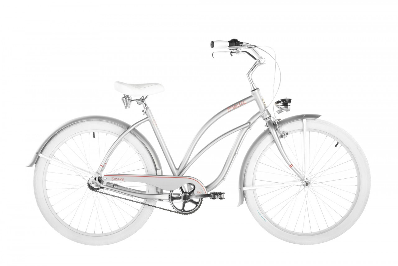 26 Zoll Cruiser Embassy Simple Silverly 7 Gänge