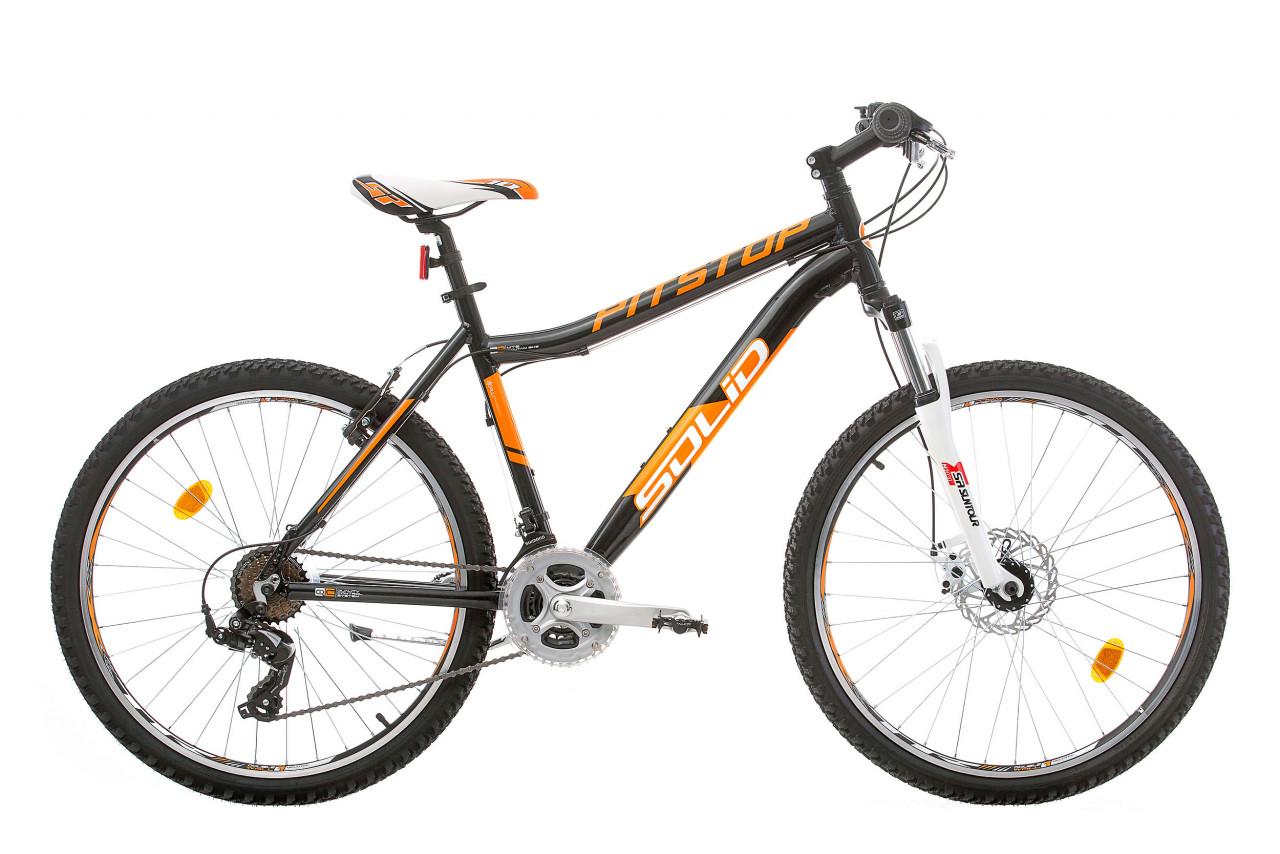 Bikesport 26 Zoll Mountainbike Pitstop Solid Scheibenbremsen