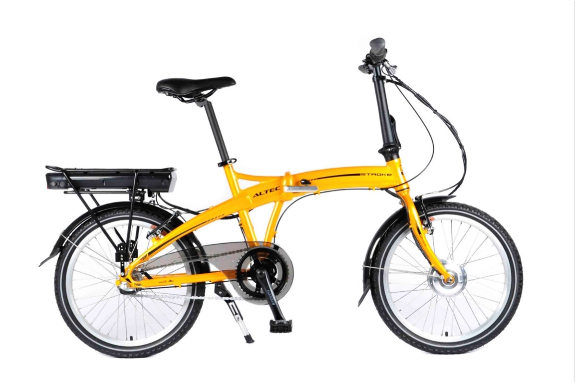 20 Zoll E-bike Klapprad Altec Stroke Scheibenbremsen