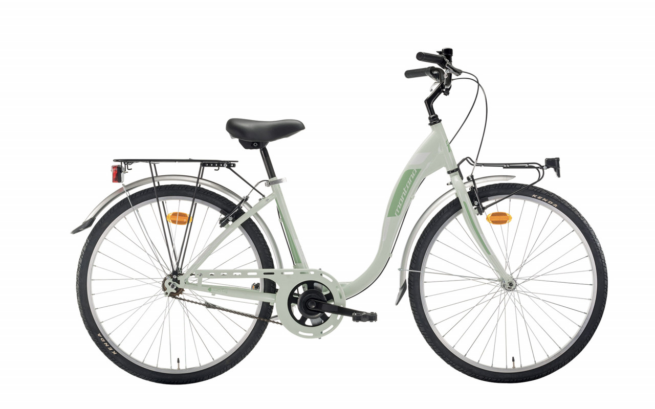 26 Zoll Citybike Damen Montana Liberty Single Speed Pastellgrün