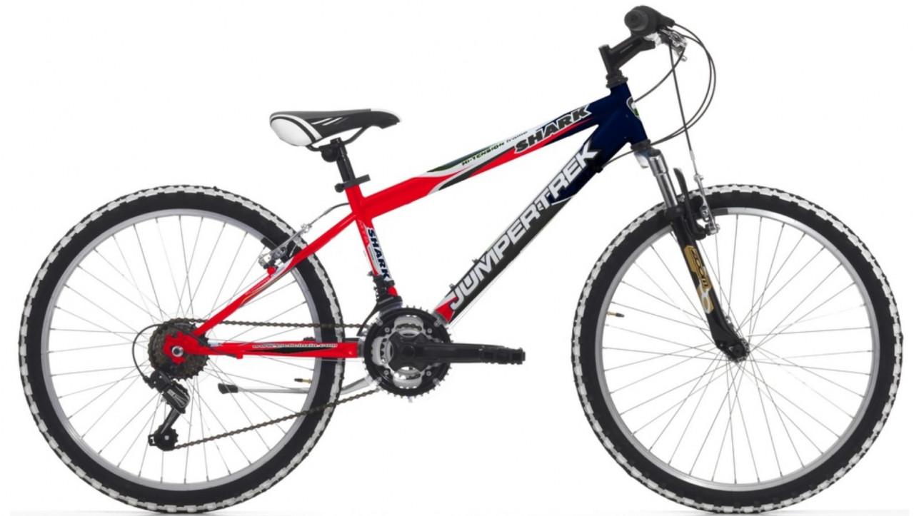 24 Zoll Mountainbike Cinzia Shark Boy Federgabel 18 Gänge