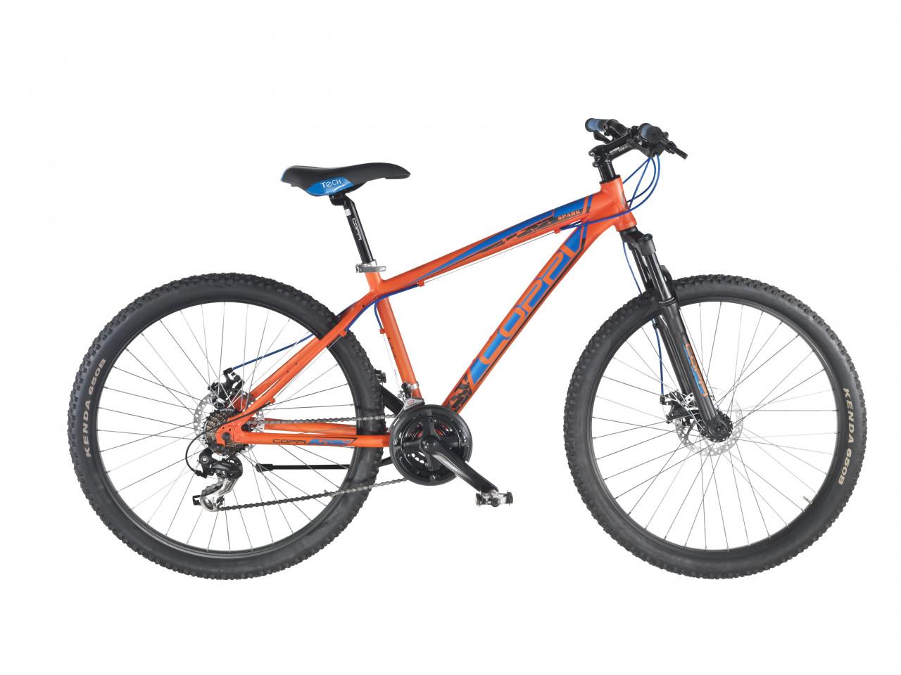 27.5 Zoll Mountainbike MTB Coppi Scheibenbremsen 21 Gänge