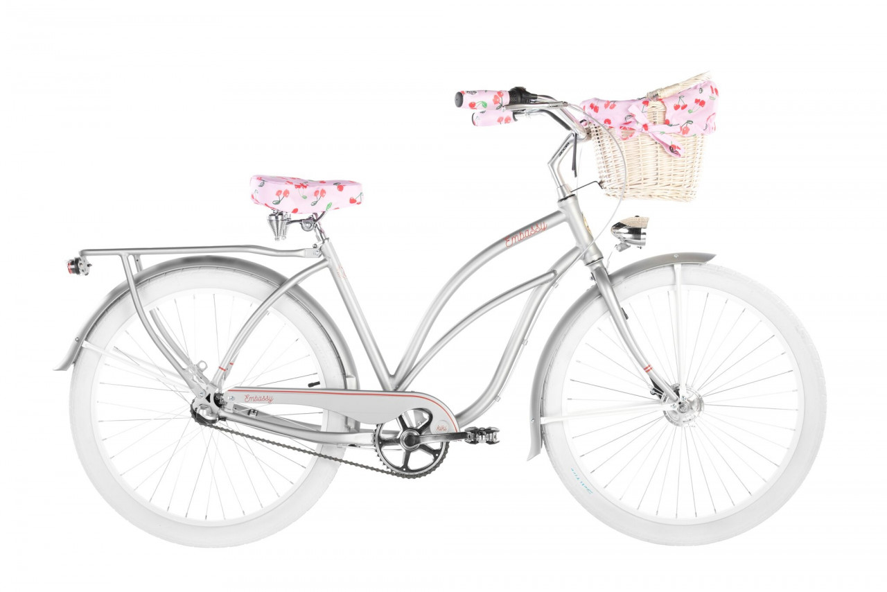 26 Zoll Cruiser Embassy Deluxe Silverly 3 Gänge