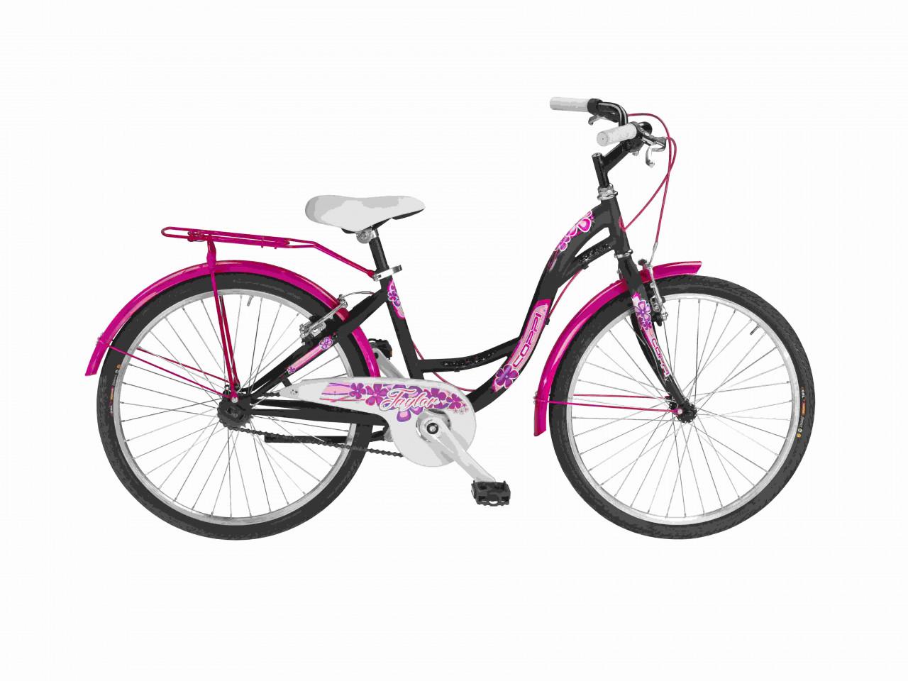 24 Zoll Mädchen Fahrrad Coppi Taylor Single Speed