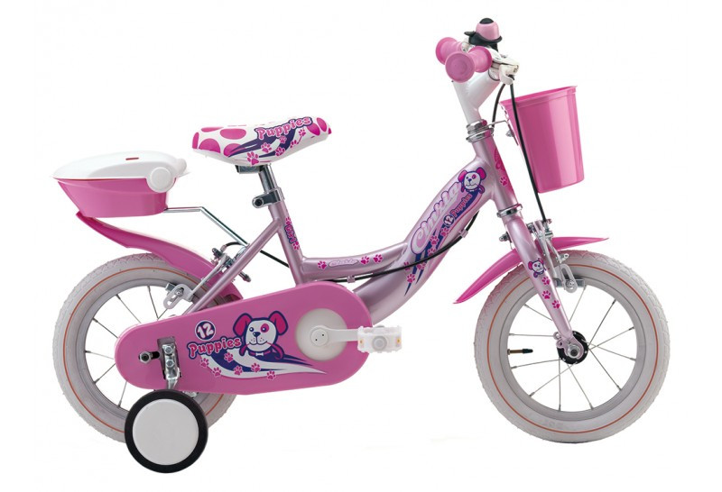 12 Zoll Kinderrad Cinzia Puppies Girl
